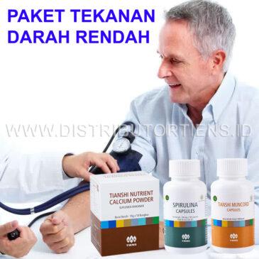 Paket Tekanan Darah Rendah Atasi Hipotensi Herbal Tiens