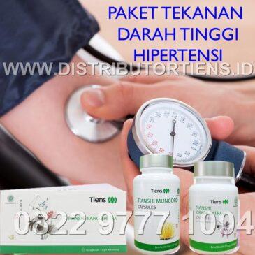 Paket Tekanan Darah Tinggi Hipertensi Herbal Tiens