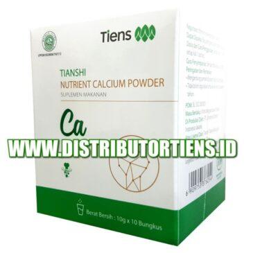 NUTRIENT CALCIUM POWDER Tiens | Kalsium Tianshi | Kesehatan Tulang