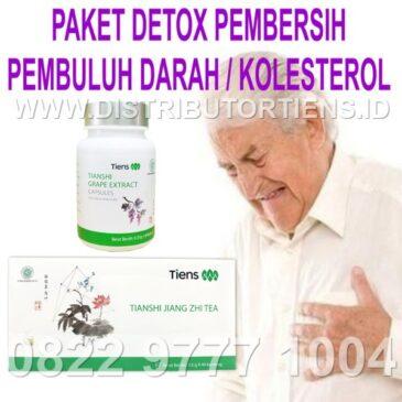 Paket Detox Pembersih Pembuluh Darah dan Kolesterol Tiens Tianshi