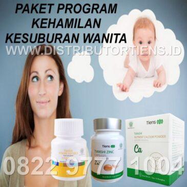 Paket Program Kehamilan dan Kesuburan Reproduksi Wanita Tiens Tianshi