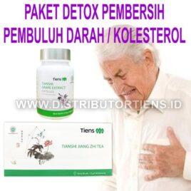 Paket Detox Pembersih Pembuluh Darah & Kolesterol Tianshi Tiens Herbal