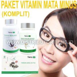 Paket Vitamin Mata Minus Silinder Plus Komplit Tiens Tianshi Herbal