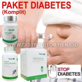 Paket Diabetes Komplit Tiens Mengatasi Kecing Manis Tianshi